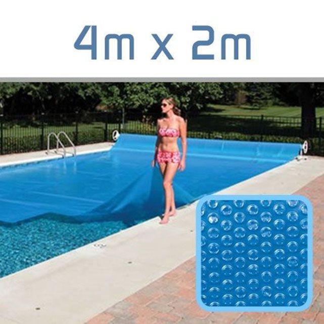 Bâche à Bulles 300 Microns pour piscine 4m x 2m