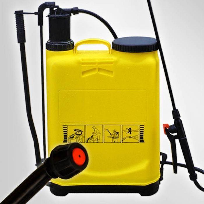 à dos avec accessoires 16 litres Pulvérisateur à dos