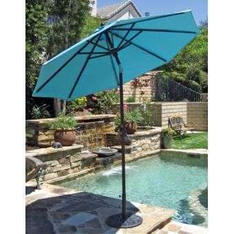 de jardin Parasols IMAGIN Parasol inclinable Diamètre 3m Bleu