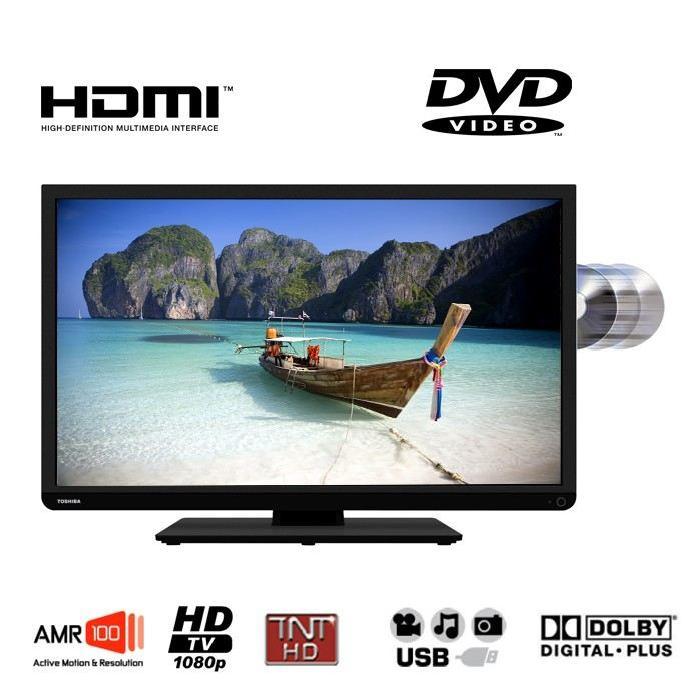 TOSHIBA 22D1333G TV LED Combi DVD Achat / Vente téléviseur led