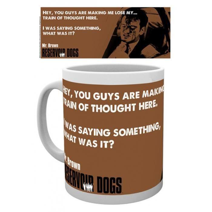 Reservoir Dogs Tasse À Café Mug Mr Brown (9 x 8 cm) Reservoir