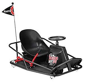 Razor Crazy Kart Électrique Mixte Adulte, Noir, Taille XL