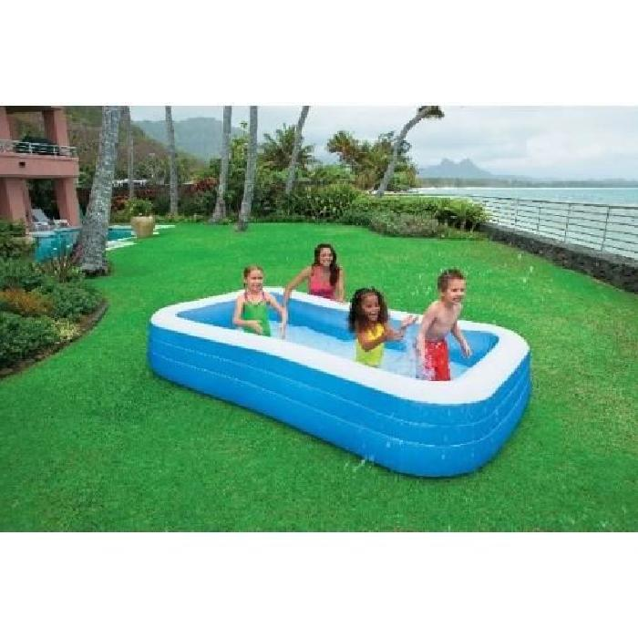 piscine rectangulaire family 3,05m intex Achat / Vente piscine