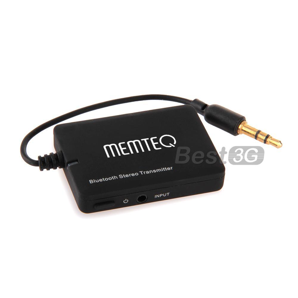 Transmetteur Emetteur Bluetooth V2.1 A2DP 3.5mm Audio Stéréo pour TV