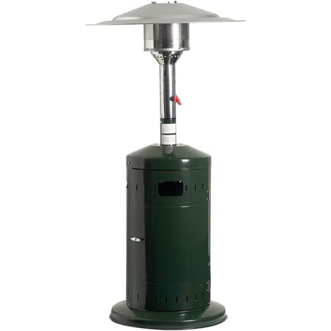 FAVEX Parasol chauffant gaz cosy profi vert ecoline gaz | détendeur