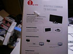 Antenne Digitale d'Intérieur VHF/ UHF / FM , Antenne TV avec Câble