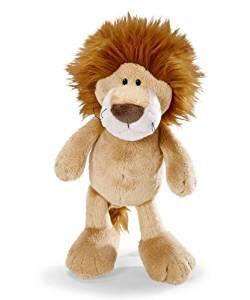 Peluche Lion 25 cm 25 cm: Jeux et Jouets