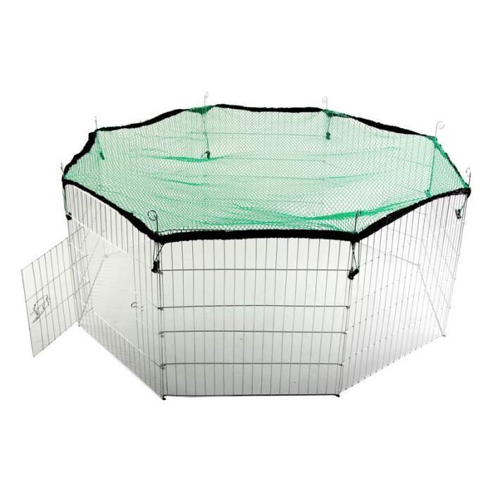 enclos pour rongeurs 8 pièces avec filet ( Achat / Vente enclos