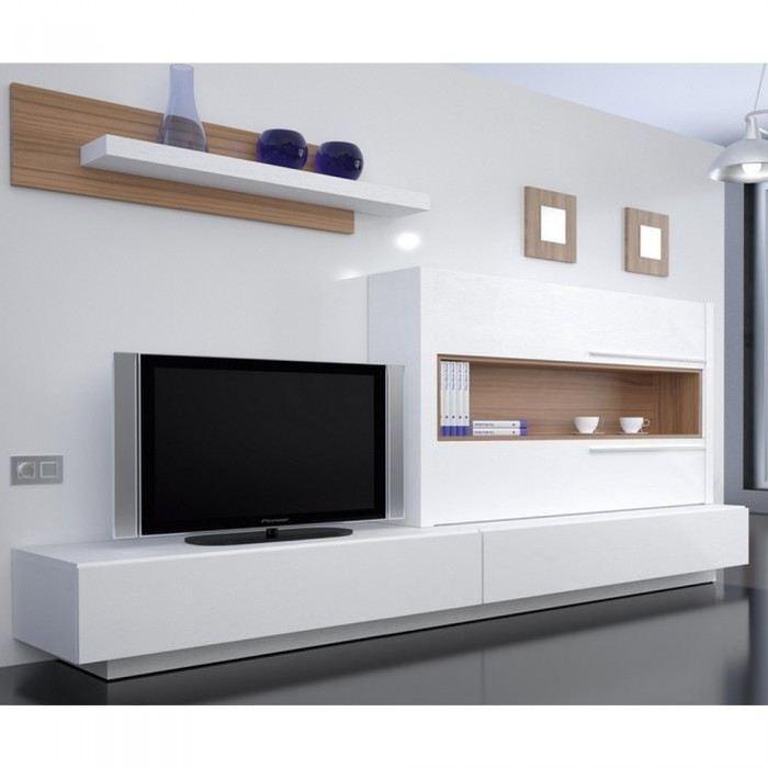meuble tv mural st barth matière mélamine coule? Achat / Vente