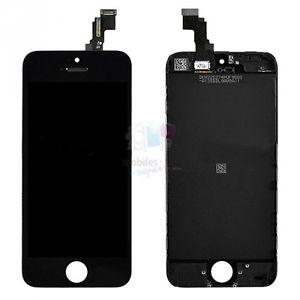 Ecran Complet Vitre Tactile LCD Retina SUR Chassis Noir Pour Iphone 5C