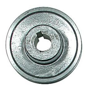 moteur et compresseurPoulie en aluminium pour moteur électrique