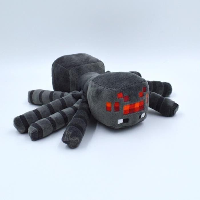 Patterns Minecraft animaux peluche araignée cadeau jouet en peluche