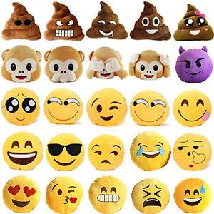 Doux Emoji Peluche Oreiller Coussins Farcies Caca Singe