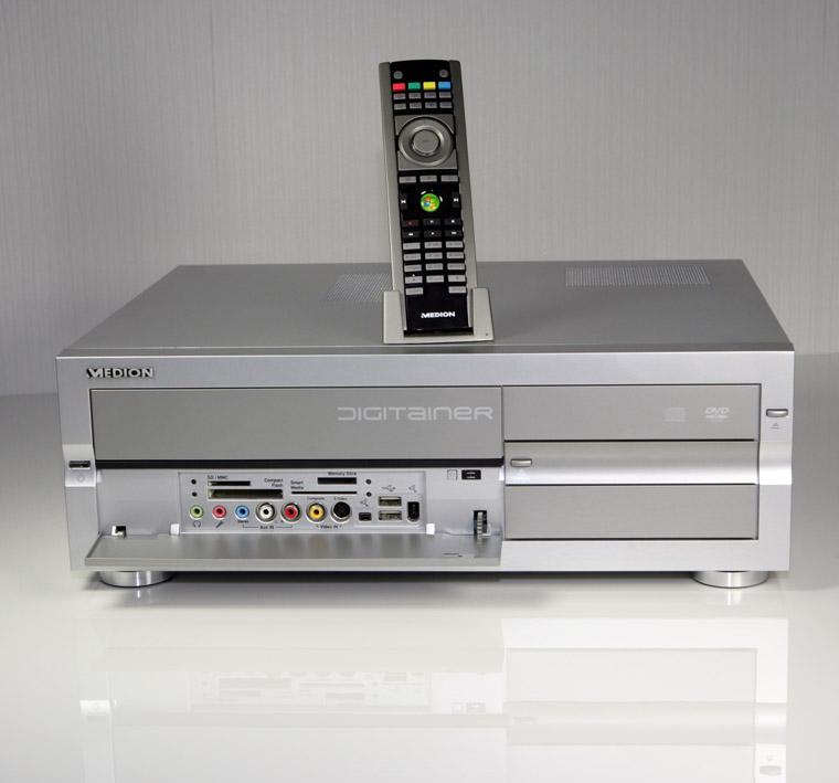 HTPC MEDION MICRO ATX Multimedia Bureau Boîtier Avec