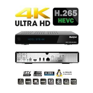 RÉCEPTEUR DÉCODEUR Récepteur 4K MUTANT HD51 IPTV Ready PVR
