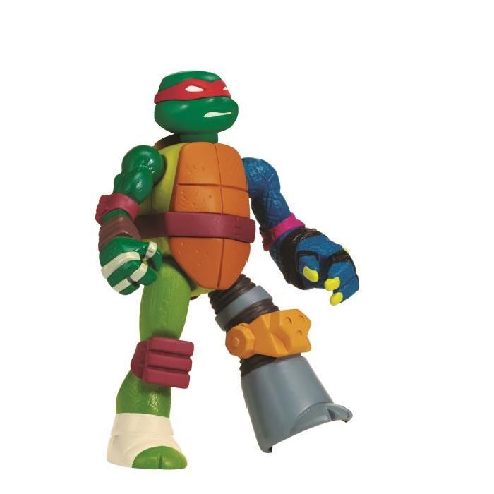 TORTUES NINJA Mutation Figurine 12 cm (Mix N' Match) Raphael