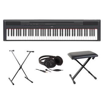 Pianos numériques YAMAHA FULL PACK P115 NOIR Pianos numériques