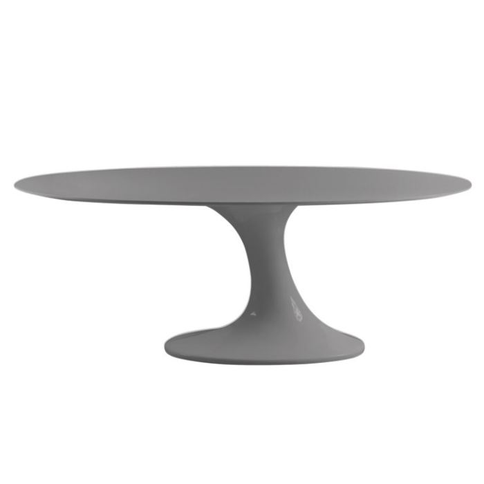 Table salle a manger ovale design topiwall for Salle a manger avec table ovale