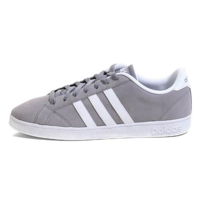 ADIDAS NEO Baskets Baseline Chaussures Homme homme Gris et blanc