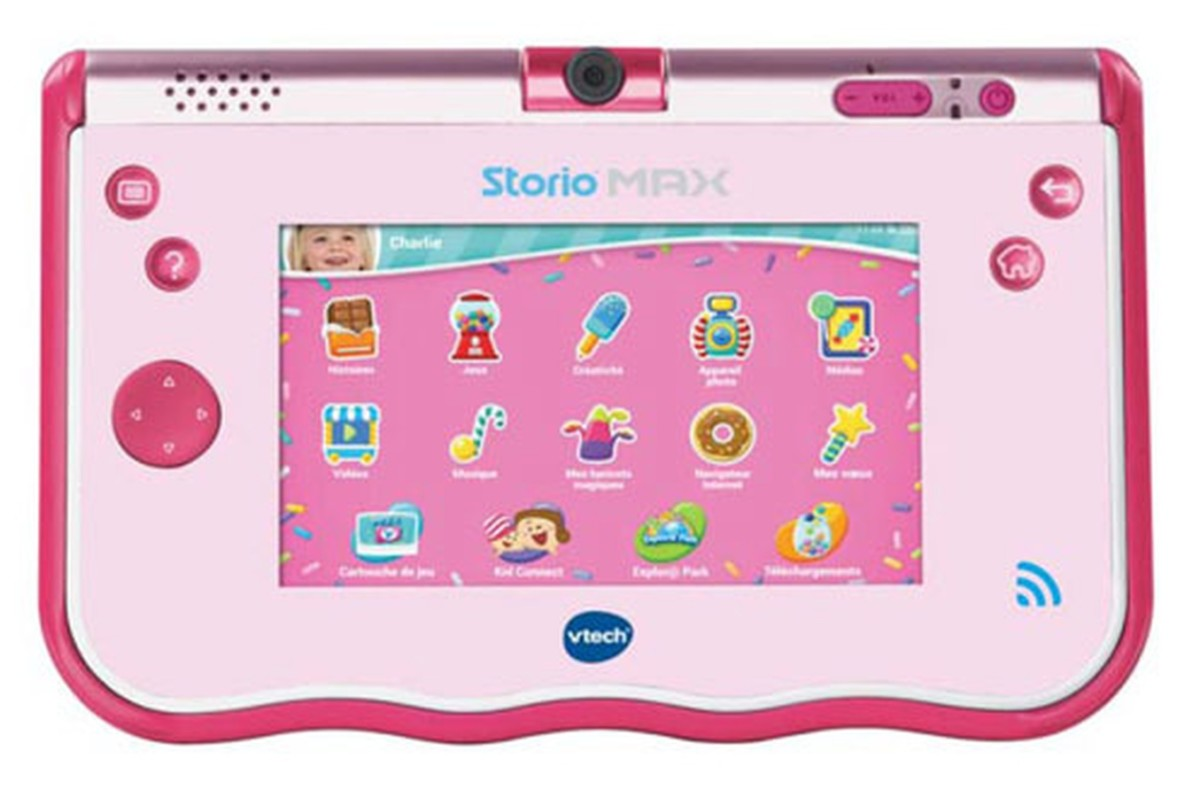 Tablette Tactile Enfant Vtech STORIO MAX 5″ ROSE (4175816)