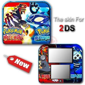 Pokemon Omega Ruby And Alpha Sapphire SKIN STICKER DECAL