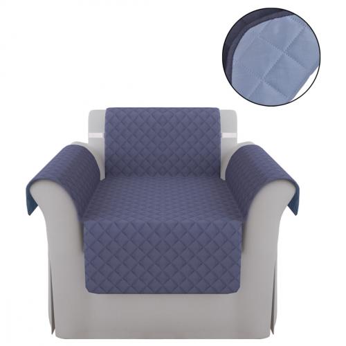 Protège canapé Protection couverture de canapé Bleu Bleu clair
