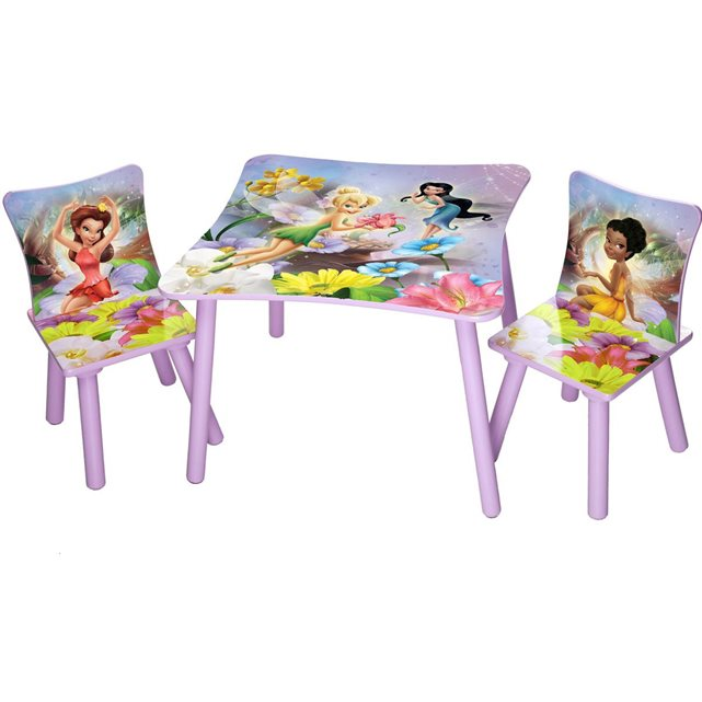 Ensemble table et chaises fée clochette disney delta Delta | La