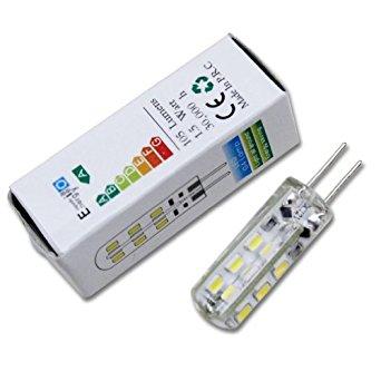 10x G4 1.5W LED Ampoule Blanc Froid (6000 7000K) LED bulb light 90