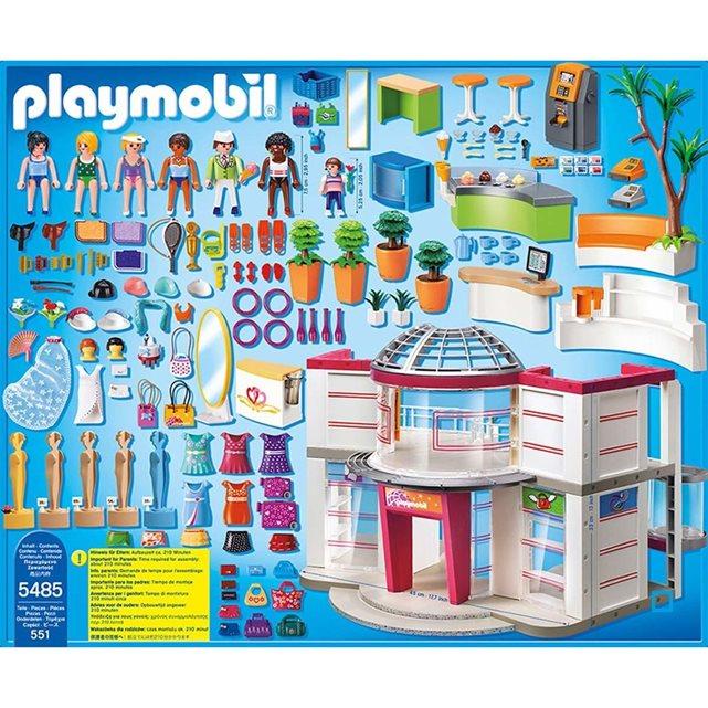 Grand magasin aménagé pla5485 couleur unique Playmobil | La