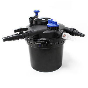 SunSun CPF 5000 Filtre de bassin à pression UVC 11W jusqu'à 8000l