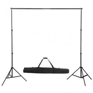 KIT STUDIO PHOTO Support de fond photo vidéo réglable 155 300 cm pr