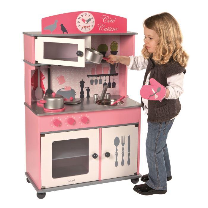 Charmant Cuisine Enfant En Bois Pas Cher #12: JURATOYS Grande Cuisine Enfant En Bois Achat / Vente Dinette