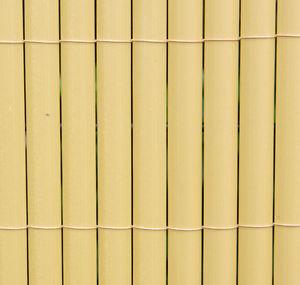 Canisse Lattes Bambou Clôture Exotique Artificielle Brise Vent Jardin