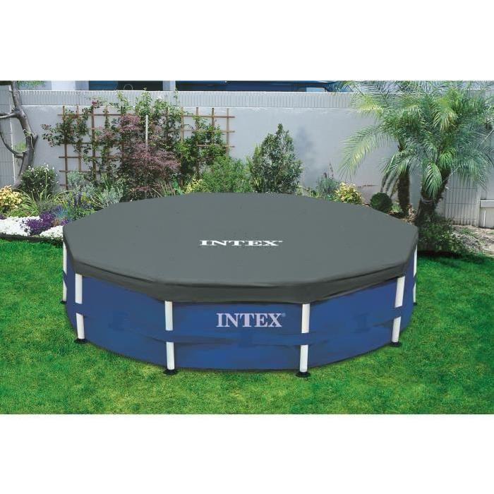 INTEX Bâche de protection pour piscine ronde 3,66m Achat / Vente