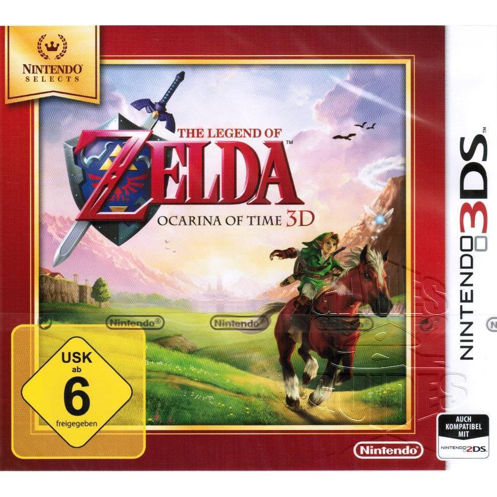 Legend of Zelda Ocarina of Time 3D für Nintendo 2DS 3DS (XL), NEU&OVP