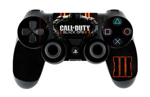 SKIN CONTROLLER PAD CALL OF DUTY BLACK OPS 3 STICKER CONTROLLER PS4