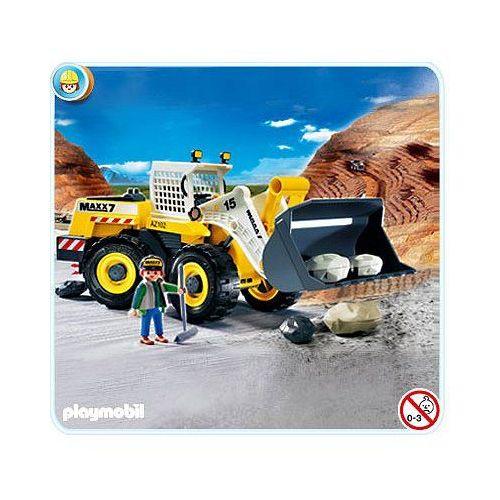Playmobil 4038 Pelleteuse Géante / Bulldozer Achat et vente