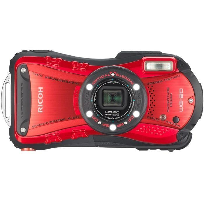 RICOH WG 20 Compact tout terrain Rouge Achat / Vente appareil photo