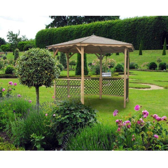 Kiosque hexagonal GARDANNE Achat / Vente abri jardin chalet