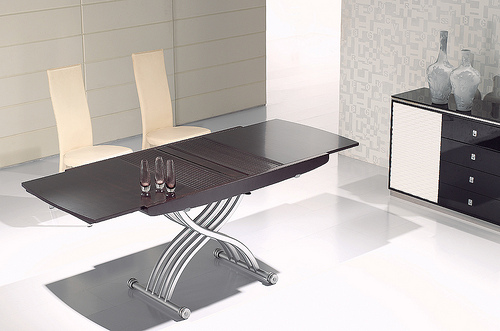 table basse transformable topiwall. Black Bedroom Furniture Sets. Home Design Ideas