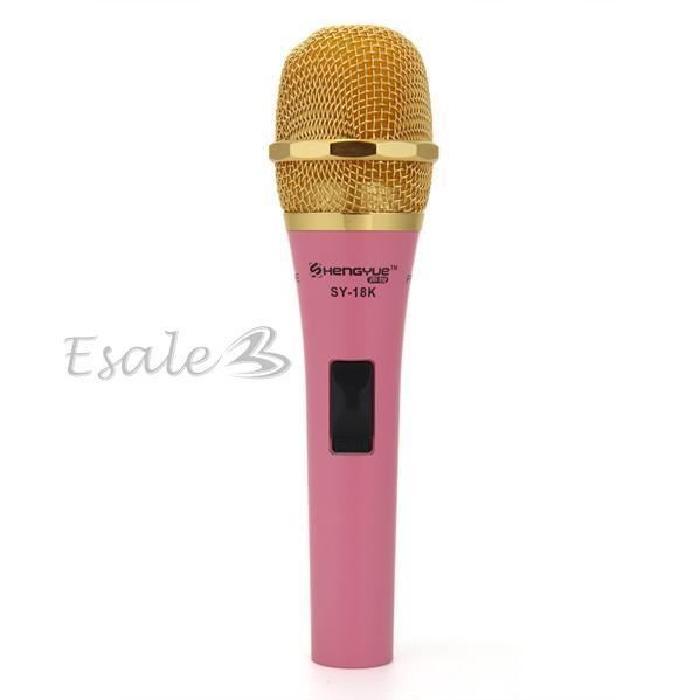 Microphone Condensateur MIC Rose pour Karaoké D? microphone, prix
