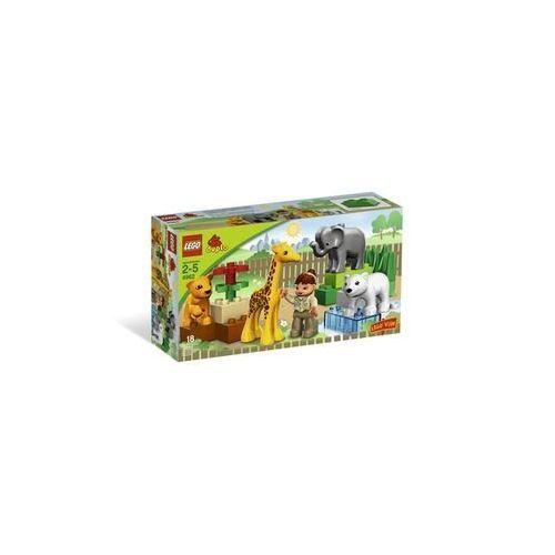 Lego duplo ville theme zoo jeu de construction le zoo des bebes
