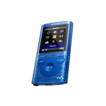 Lecteur MP3 Sony NWZE383B 8 Go Bleu MP3 audio / vidéo Achat