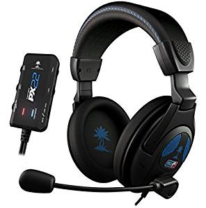 Turtle Beach PX22 casque gaming noir (PS3, Xbox 360, PC): Playstation