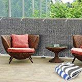 Brise vue casa pura® en gris | idéal pour balcons, terrasses