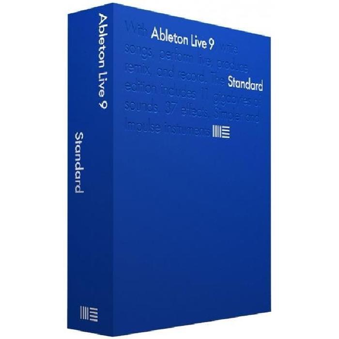 Live 9 Standard, séquenceur audio et MIDIComposez, produisez, jouez