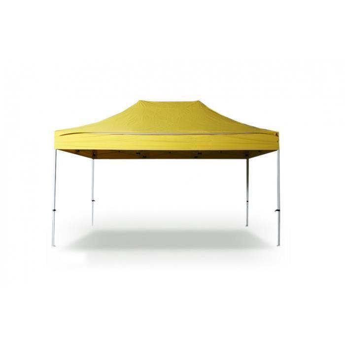 INTEROUGE Barnum Chapiteau Tonnelle Tente pliante alu PRO 40 mm 3×4,5m