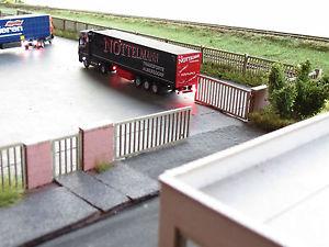 Modellbahn Union N L00018 Industriezaum MIT TOR Grundset 140 MM Spur N