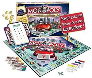 Jeu de société Monopoly Electronique: Jeux et Jouets