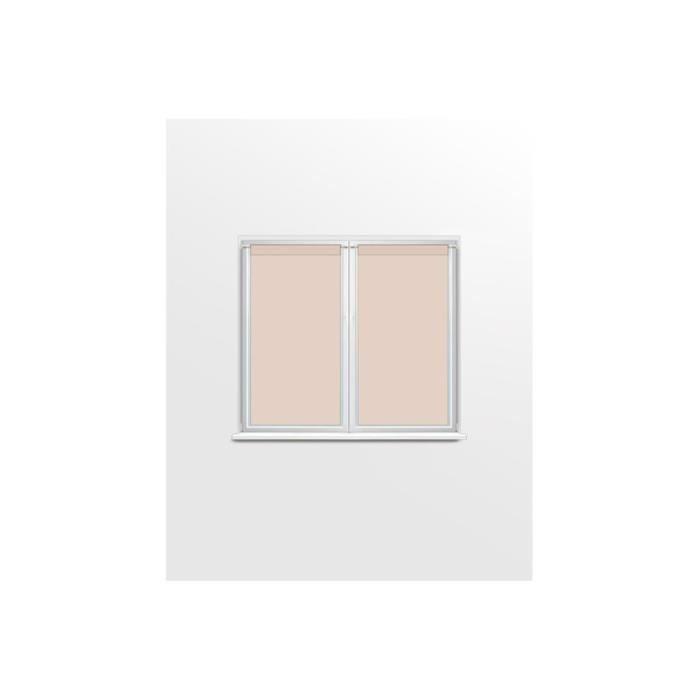 article contient 2 rideaux 45×90 cm chaqu'un ) couleur: Beige
